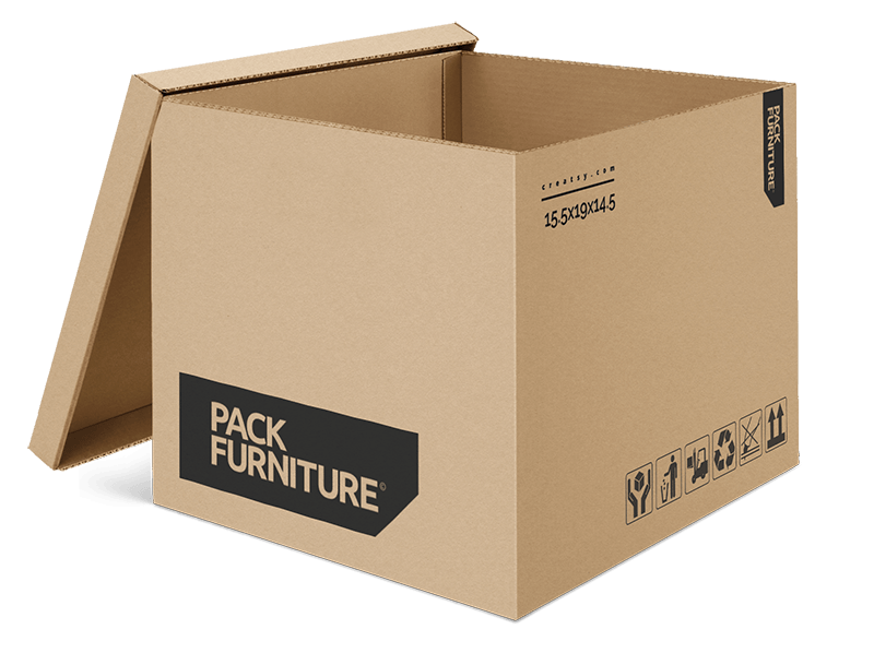 Pack Furniture Outer Box Design